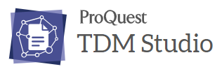 ProQuest TDM Studio